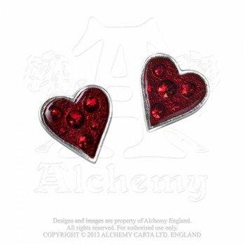 kolczyki HEART'S BLOOD (PARA)