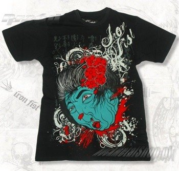 koszulka IRON FIST - HEISHA HEAD (BLACK) 09'