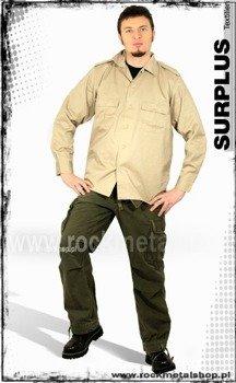 koszula US HEMD 1/1  BEIGE SURPLUS