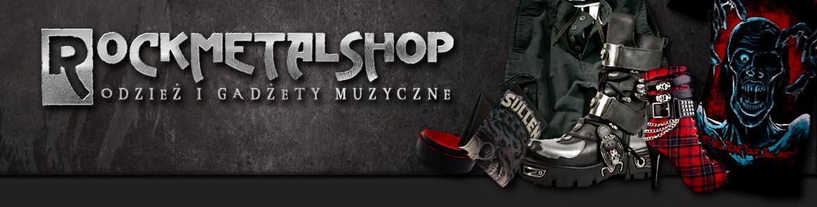www.rockmetalshop.pl - koszulki, bluzy, glany i gadżety muzyczne