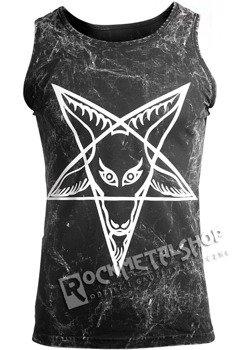 koszulka na ramiączkach AMENOMEN - PENTAGRAM GOAT 2 (OMEN032KR ALLPRINT WHITE)