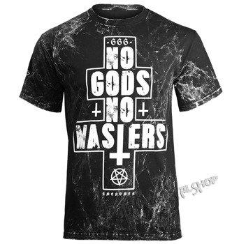 koszulka AMENOMEN - NO GODS NO MASTERS (OMEN080KM ALLPRINT WHITE)