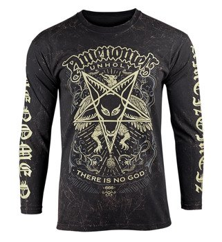 longsleeve AMENOMEN - UNHOLY (OMEN149LO ALLPRINT BROWN)
