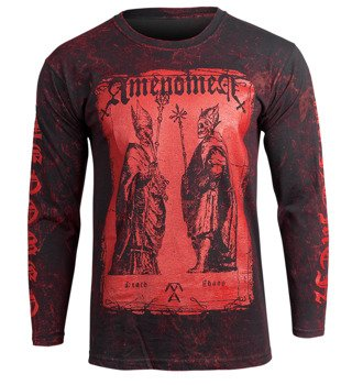 longsleeve AMENOMEN - TWO POPES (OMEN017LO ALLPRINT RED)