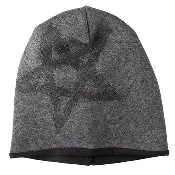 czapka zimowa AMENOMEN - PENTAGRAM (OMEN096CZAP) GRAY BLACK