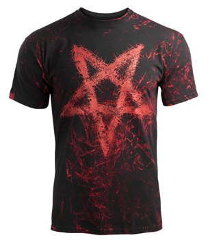 koszulka AMENOMEN - PENTAGRAM (OMEN096KM ALLPRINT RED)