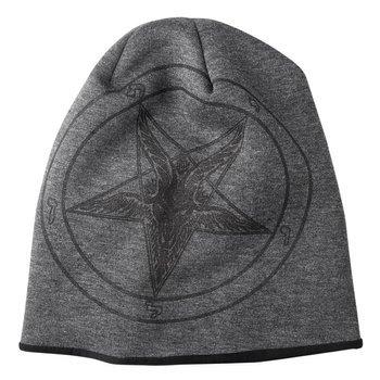 czapka zimowa AMENOMEN - PENTAGRAM GOAT (OMEN001CZAP) GRAY BLACK