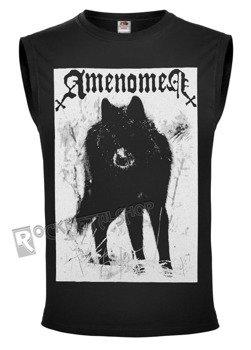 bezrękawnik AMENOMEN - SNOW WOLF (OMEN037BR BLACK)