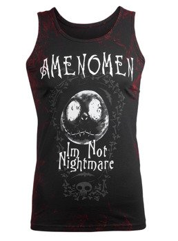 koszulka na ramiączkach AMENOMEN - I'M NOT NIGHTMARE (OMEN073KR ALLPRINT RED)