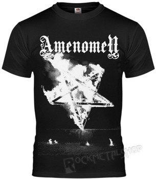 koszulka AMENOMEN - PENTAGRAM BURN (OMEN067KM)
