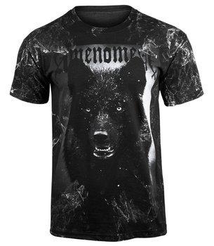 koszulka AMENOMEN - BLACK WOLF (OMEN024KM ALLPRINT WHITE)
