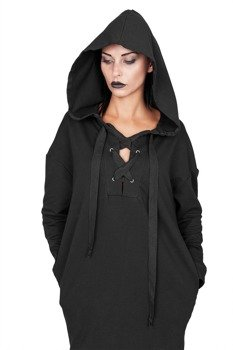 bluza/sukienka AMENOMEN - BLACK