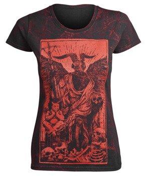 bluzka damska AMENOMEN - DEVIL (OMEN094DA ALLPRINT RED)