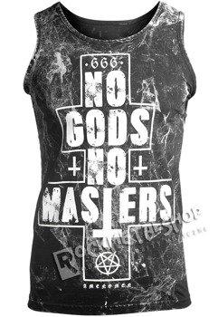 koszulka na ramiączkach AMENOMEN - NO GODS NO MASTERS (OMEN080KR ALLPRINT WHITE)