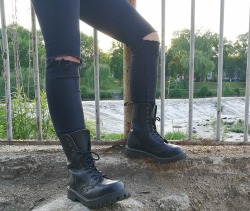 glany STEEL - BLACK (10 dziurek)