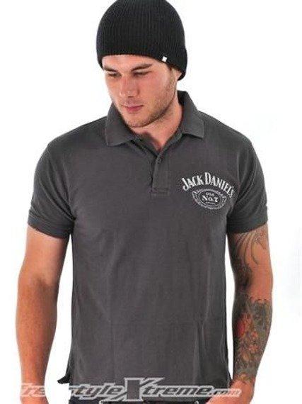 ed460d4f9 koszulka polo JACK DANIELS - VINTAGE - sklep RockMetalShop.pl