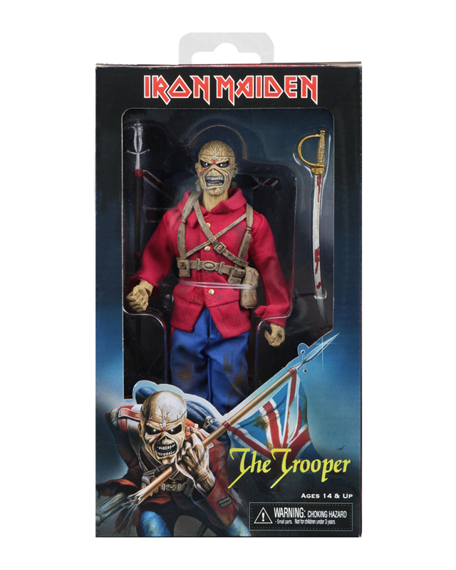 figurka IRON MAIDEN - TROOPER EDDIE, 20 cm