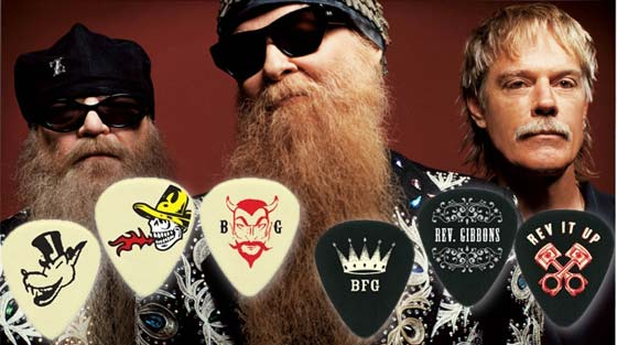 kosti Billy Gibbons