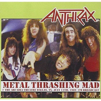 ANTHRAX: METAL THRASHING MAD (CD)