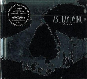 AS I LAY DYING: DECAS (CD) DIGIBOOK LIMITED