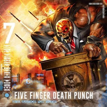 FIVE FINGER DEATH PUNCH: AND JUSTICE FOR NONE (CD)
