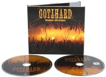 GOTTHARD: HOMEGROWN - ALIVE IN LUGANO (CD+DVD)
