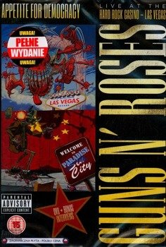 GUNS N' ROSES: APPETITE FOR DEMOCRACY (DVD)