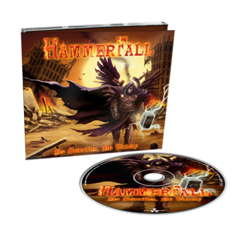HAMMERFALL - NO SACRIFICE, NO VICTORY (CD) LIMITED DIGIPACK