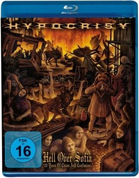 HYPOCRISY: HELL OVER SOFIA - 20 YEARS OF CHAOS AND CONFUSION (CD+BLU-RAY)