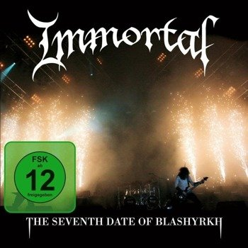 IMMORTAL:  THE SEVENTH DAY OF BLASHYRKH (CD+DVD)