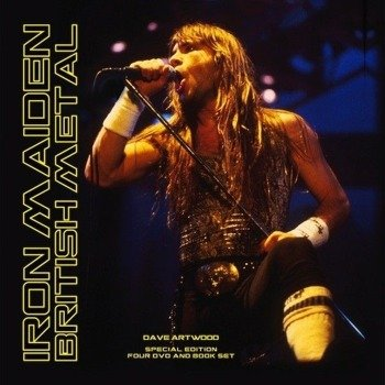 IRON MAIDEN: BRITISH METAL (4DVD + KSIĄŻKA)