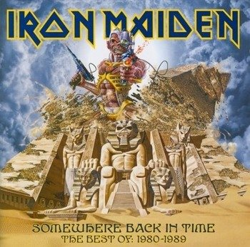IRON MAIDEN: SOMEWHERE BACK IN TIME:  THE BEST OF 1980-1989(CD)