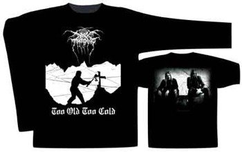 Longsleeve   DARKTHRONE - TOO OLD, TOO COLD  (ST901)