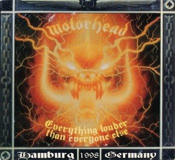 MOTORHEAD: EVERYTHING LOUDER THAN EVERYONE ELSE -LIVE HAMBURG 1998 (3LP VINYL)