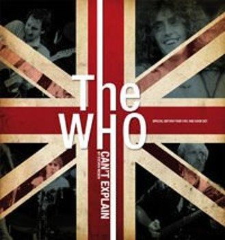THE WHO:  CANT EXPLAIN (BOOK + 4DVD)