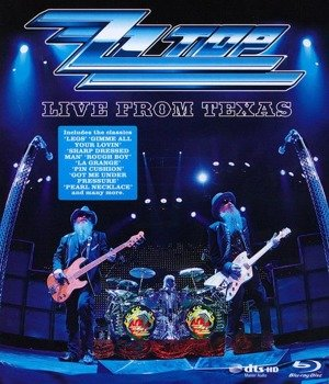 ZZ TOP: LIVE FROM TEXAS (BLU-RAY)