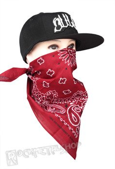 bandana CRIMSON/BLACK/WHITE