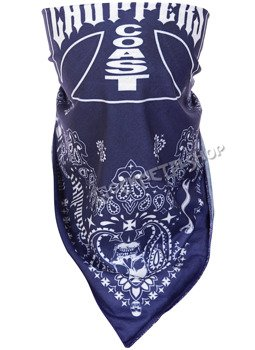 bandana WEST COAST CHOPPERS - HANDCRAFTED BLUE