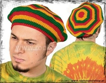beret RASTA - RED YELLOW GREEN