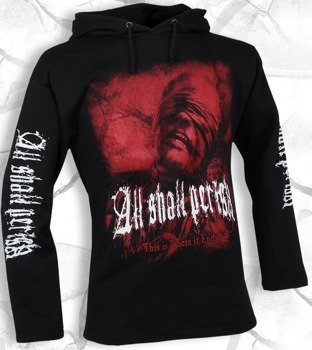 bluza ALL SHALL PERISH czarna, z kapturem