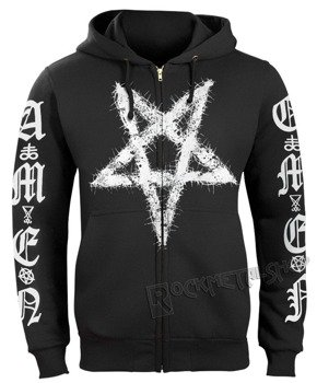 bluza AMENOMEN - PENTAGRAM rozpinana, z kapturem (OMEN096CR)