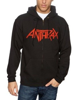 bluza ANTHRAX - WORSHIP MUSIC HANDS, rozpinana z kapturem