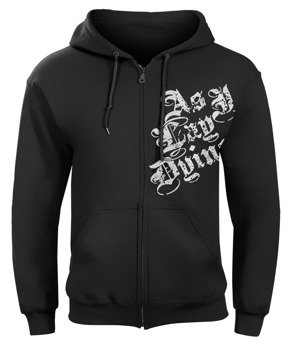 bluza AS I LAY DYING, czarna rozpinana z kapturem