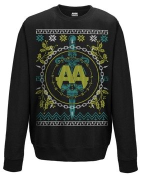 bluza ASKING ALEXANDRIA - CHRISTMAS LIGHT, bez kaptura