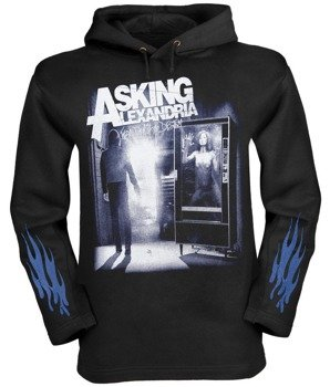 bluza  ASKING ALEXANDRIA - FROM DEATH TO DESTINY czarna, z kapturem