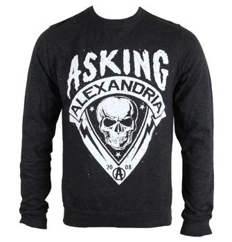 bluza ASKING ALEXANDRIA - SKULL SHIELD, bez kaptura