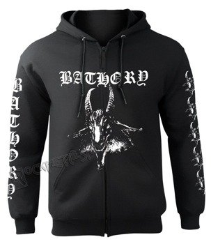 bluza BATHORY - GOAT,rozpinana z kapturem
