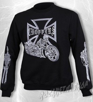 bluza BONE BIKE bez kaptura