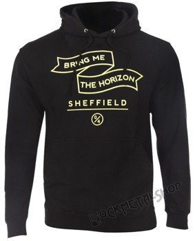 bluza BRING ME THE HORIZON - SHEFFIELD, kangurka z kapturem