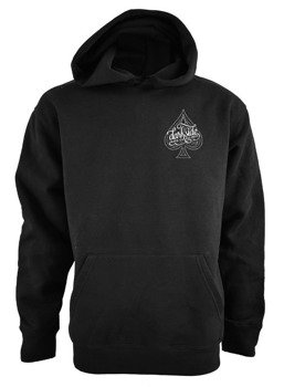 bluza DARKSIDE - ACE OF SPADES, kangurka z kapturem